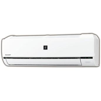 シャープ8畳向け 冷暖房インバーターエアコンKuaL プラズマクラスターエアコンホワイトAYH25DE6S