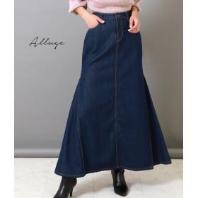 【セール開催中】ANAP(アナップ)サイドフレアデニムロングスカート