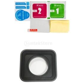 カメラスクリーン保護フィルム 保護レンズ ゴープロヒーロー5に対応 交換用 耐久性  非常にクリア&低反射