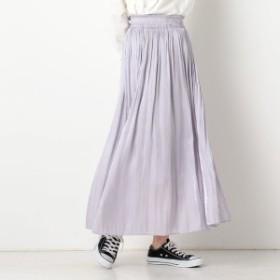アルシーヴ(archives)/シワ加工サテンギャザースカート