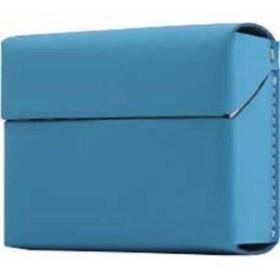 ロア・インターナショナル 4589753005242 エスエルジーデザイン Calf Skin Leather iQOS Heets Case ブルー SD11524 1コ