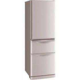 三菱電機 MR-C37D-P 370L 幅・奥行60cm(ドア角まで) 冷蔵庫 (シャンパンピンク) (MRC37DP)