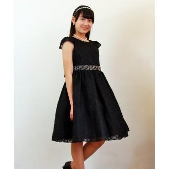 リトルプリンセス 子供ドレス 301003 レディース ブラック 110cm 【Little Princess】