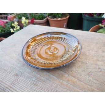 茶色の器 中皿[19Jan-1]《釉薬》