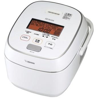 象印 NW-JT18-WA ホワイト 極め炊き [圧力IH炊飯器(1升炊き)]