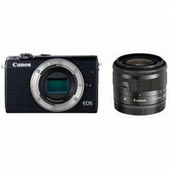 Canon ミラーレス一眼 EOS M100【EF-M15-45 IS STM レンズキット】 (ブラック/ミラーレス一眼カメラ)