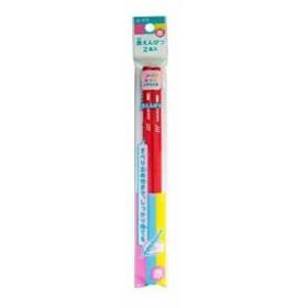 赤鉛筆 小学生文具 Gアカエンピツ-2P 10 2P×10個[Gアカエンピツ-2P(10)](赤)