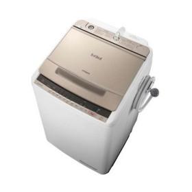 日立 BW-V80C(N) シャンパン ビートウォッシュ [全自動洗濯機(8.0kg)]