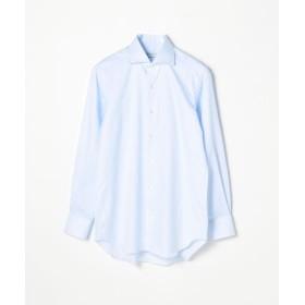 トゥモローランド 120/2コットンロイヤルオックスフォード ワイドカラー ドレスシャツ NEW WIDE 5 メンズ 65ブルー 41 【TOMORROWLAND】