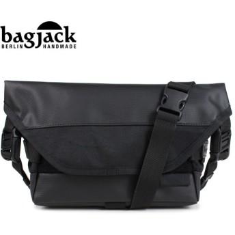 bagjack バッグジャック メッセンジャーバッグ ショルダーバッグ メンズ レディース NEXT LEVEL SPUTNIK ブラック [1/22 再入荷]