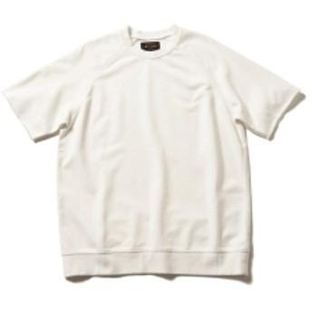 BEAMS PLUS / ライト ウェイト 半袖スウェット メンズ スウェット WHITE M