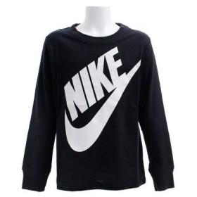 ナイキ(NIKE) HN ボーイズ 長袖プリントTシャツ T18155 86E011-023 (Jr)
