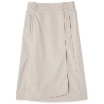 HUMAN WOMAN / ◆ピンドットジャガードラップ風スカート