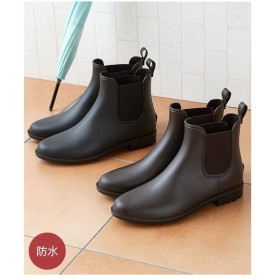 シューズ レイン レディース マリクレール サイドゴアレイン ブーツ 靴 22.5/23.0〜23.5/24/24.5cm ニッセン
