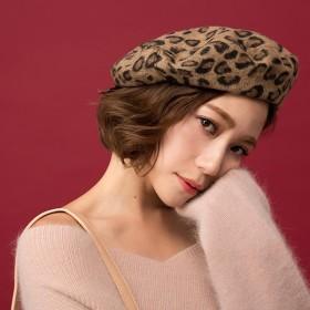 ベレー帽 - Ruby's Collection レディースファッション通販【Ruby's Collection x RCha】豹柄大人ベレーベレー帽/ベレー/豹柄/レオパード/セレブ/大人カジュアル/