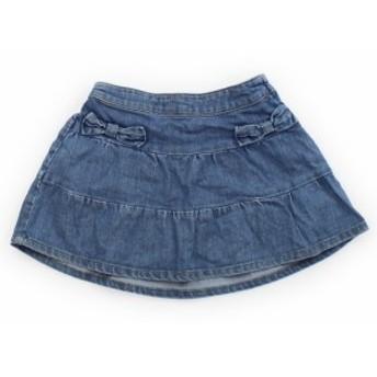 【ナチュラルビューティーベーシック/NATURAL BEAUTY BASIC】スカート 95サイズ 女の子【USED子供服・ベビー服】(335610)