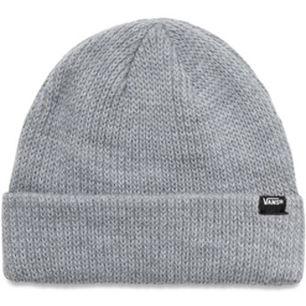 【VANSアパレル】 ヴァンズ ニットキャップ CORE BASICS BEANIE VN000K9YHTG HEATHER GREY F