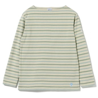 <MENS>ORCIVAL for Pilgrim Surf+Supply / Multi Border メンズ Tシャツ Sage 3
