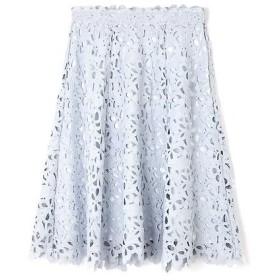 PROPORTION BODY DRESSING / プロポーションボディドレッシング  リボンケミカルレースフレアースカート