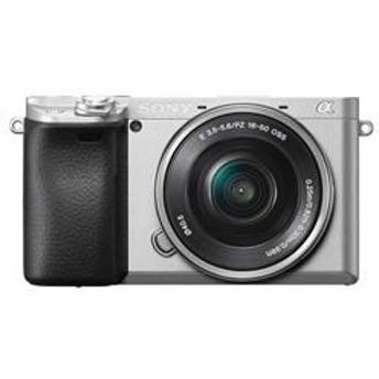 ミラーレス一眼カメラ α6400(アルファ6400) パワーズームレンズキット シルバー ILCE-6400L-S