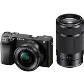 ミラーレス一眼カメラ α6400(アルファ6400) ダブルズームレンズキット ブラック ILCE-6400Y-B