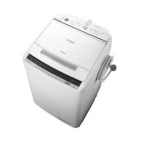 日立 BW-V80C(W) ホワイト ビートウォッシュ [全自動洗濯機(8.0kg)]