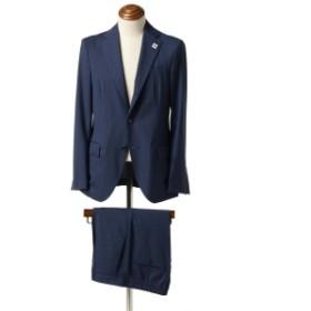 LARDINI BEAMS 別注 EASY WEAR ウールギャバジン パッカブルスーツ