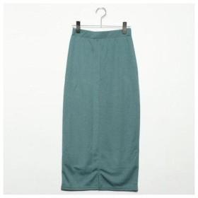 フューティアランド Futier Land 3type選べるタイトスカート (グリーン:ロング丈)