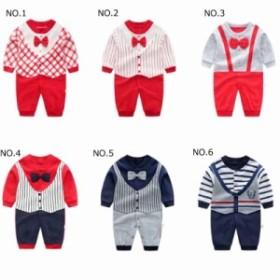 adec26e28b96e 即納・2019新品」ロンパース カバーオール 新生児から 赤ちゃん 綿100% 長袖 ボディー