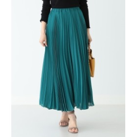 【カタログ掲載】B:MING by BEAMS / プリーツスカート 19SS レディース マキシ・ロング丈スカート GREEN ONE SIZE