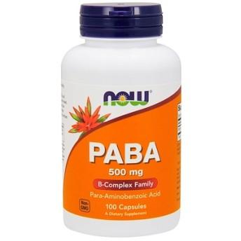 PABA、500 mg、100粒