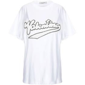 《期間限定セール開催中!》VALENTINO レディース T シャツ ホワイト XS コットン 100%