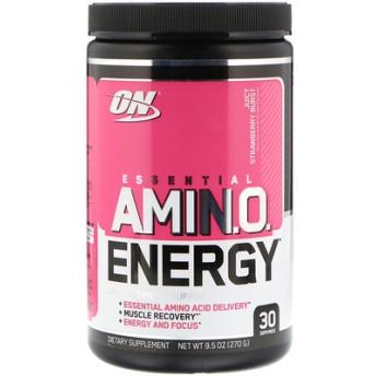 Essential Amino Energy, Juicy Strawberry Burst, 9.5 oz (270 g)