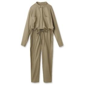 DRESSTERIOR(Ladies)(ドレステリア(レディース))【洗える】コットンキュプラジャンプスーツ