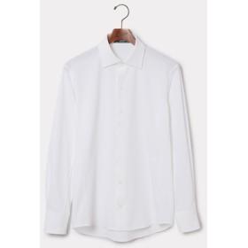 アダム エ ロペ オム/WLT×MEMBRANA ハニカム ドレスシャツ/ホワイト/L