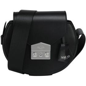 《セール開催中》SALAR レディース メッセンジャーバッグ ブラック 牛革(カーフ) 100% ANNIE BASIC