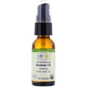 Organic Baobab Oil, Skin Care Oil, 1 fl oz (30 ml)