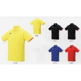 ヨネックス ゲームシャツ フィットスタイル 10298 ライトイエロー ブラック/オレンジ ミッドナイトネイビー サンセットレッド