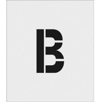 アイマーク ASTB15095 IM ステンシル B 文字サイズ150×95mm