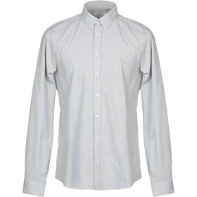 《セール開催中》CALVIN KLEIN メンズ シャツ グレー 39 コットン 100%