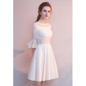 パーティードレス 結婚式 二次会 ワンピース 結婚式 お呼ばれ ドレス 20代 30代 40代 結婚式 お呼ばれドレス シースルー ドレス ワンピー