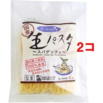 国産生パスタ スパゲッティ (200g(100g2食入)2コセット)