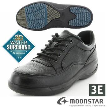 ムーンスター メンズ カジュアルシューズ 本革 SPH8900WSR ブラック 防滑底 雪道 moonstar