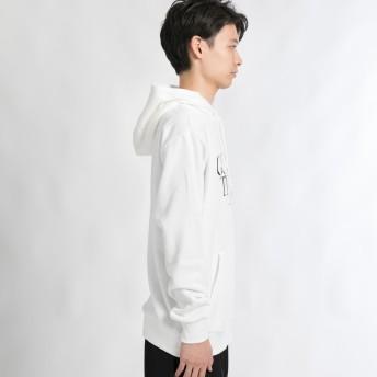 パーカー - WEGO【MEN】 ロゴプリントプルパーカー BR18SP12-M025