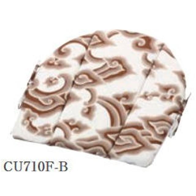 ラタンワールド CU710F-B ラタンチェア用背もたれクッション(プリント) (CU710FB)