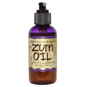 ツムオイル(Zum Oil), フランキンセンス&ミルラ, 4液量オンス