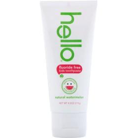 子供用、フッ化物不使用の歯磨き粉、天然スイカ、4.2 oz (119 g)