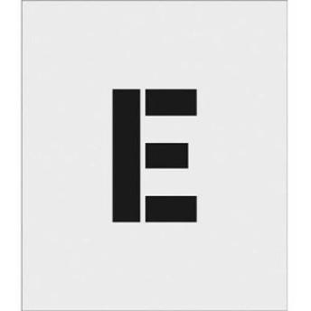 アイマーク ASTE15095 IM ステンシル E 文字サイズ150×95mm