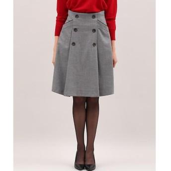 ef-de / エフデ 《Maglie collection》フロントボタンAラインスカート