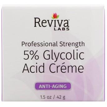 5%グリコール酸クリーム、アンチエイジング、1.5オンス (42 g)